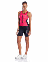 Lycra Sublimation Women Triathlon Suit Triathlon Gear