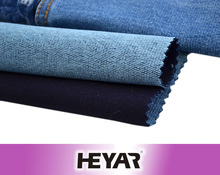 Cotton/Poly/Spandex Knit Stretch Denim Jeans Fabric Factory