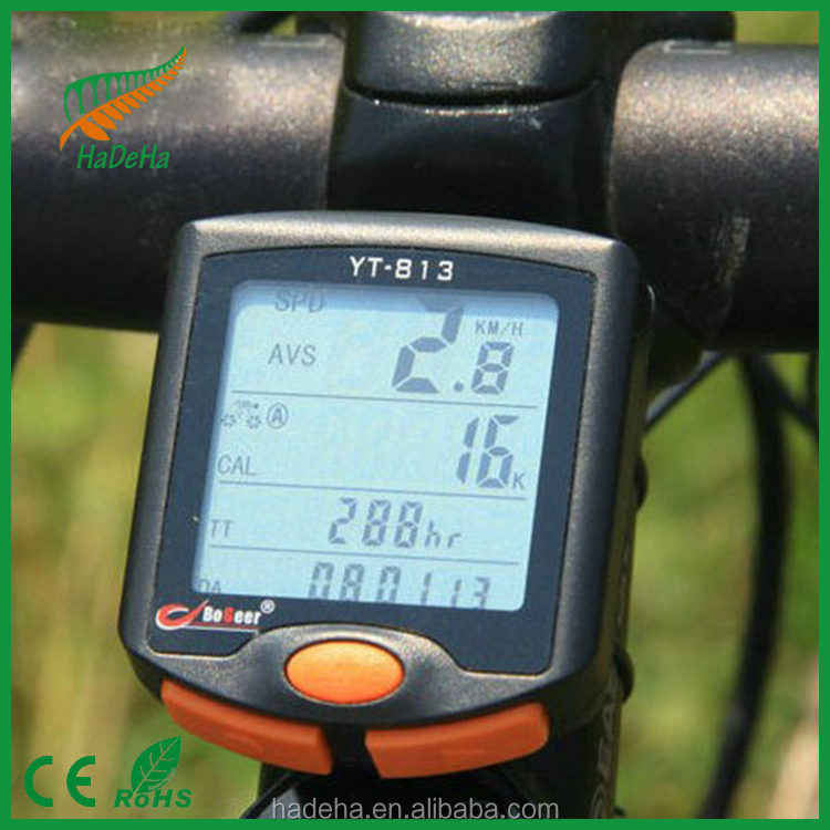 Wireless Bicycle Cycle Computer 24 Functions Waterproof LCD Odometer Speedometer bike accessory/Cycle Computer
