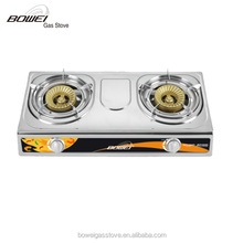 Crazy selling double burner integrated gas stove BW-2026