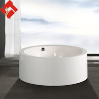 small clear round acrylic sex bathtub