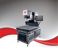 C02 dynamic Laser marking machine with 800*800mm max marking area for wedding card