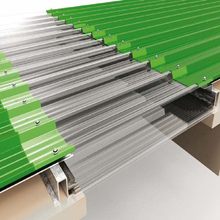 corrugated polycarbonate roofing sheets as house roof cover material