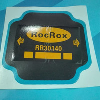 Tyre and tube repair rubber patches for hot and cold patch