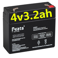 Neata 4v 3 2ah 20hr Rechargeable
