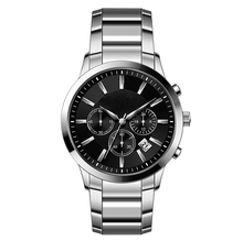 top brand high quality custom logo stainless steel men's watch