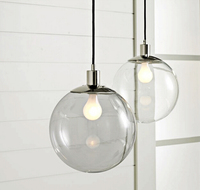 Buy Hot Selling modern glass ball Pendant lamp MD2013106-12 in ...