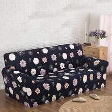 Floral Printed Flexible Stretch Sofa Cover Big Elasticity Couch Cover Loveseat Sofa Slipcover Funiture Cover 1/2/3/4-seater