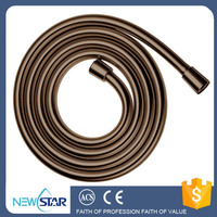 Premium Flexible Non-toxic PVC Round 1.5m Handheld Shower Hose with Anti-abrasion and Anti-bacterial