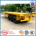 China factory semi ftrailer flatbed semi trailer for sales