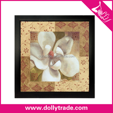Wall Hanging Picture White Beautiful Oil Painting Pictures of Flower