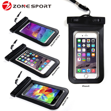 Newest design pvc phone waterproof case for all smartphone