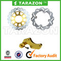 Motorcycle Brake Disc Disk Rotor 320MM Oversize Floating Front & Rear With Bracket For CR E SUPERMOTARD HM 250