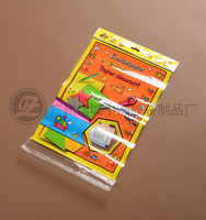 guangzhou china factory price transparent plastic cheap self sealing toy packing opp bag