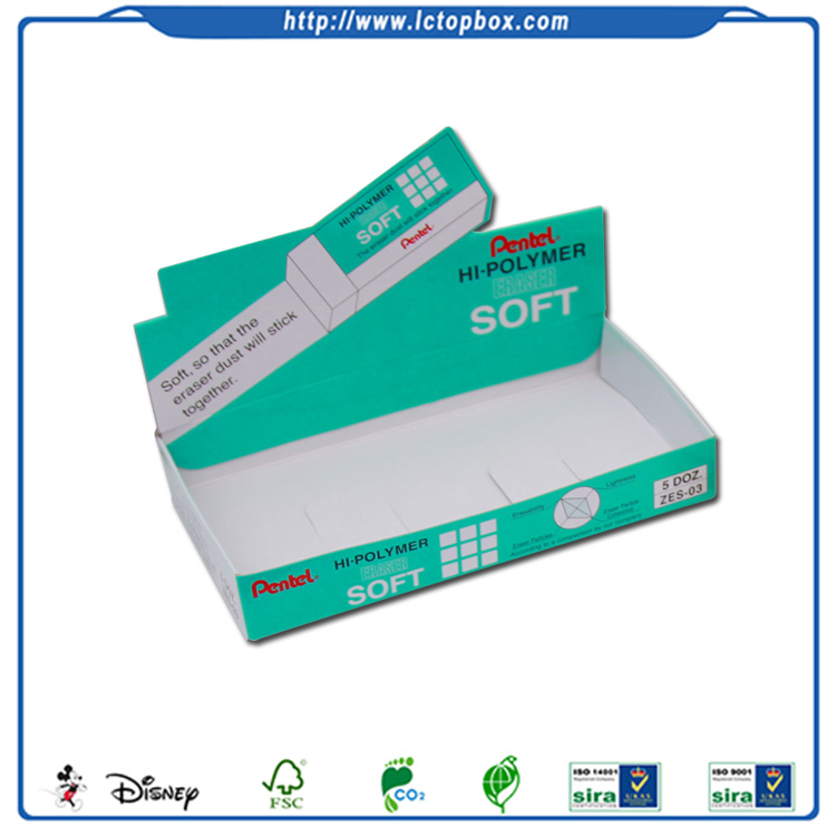 art Paper Printed Counter Display Box stationery organizer