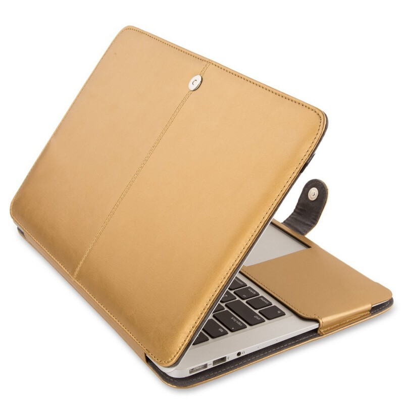 Shell Case for Macbook Pro 13.3'15.4', for Macbook Leather Handbag case with keyboard protector