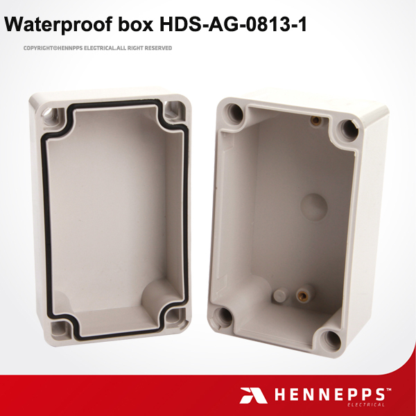 CE Factory Manufacture Junction Box IP66 IK08 Anti Aging Waterproof PC/ABS High Strength Plastic Injection Box