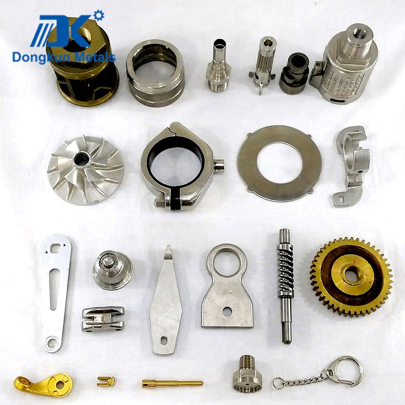 steel and aluminum investment casting parts for aerospace parts