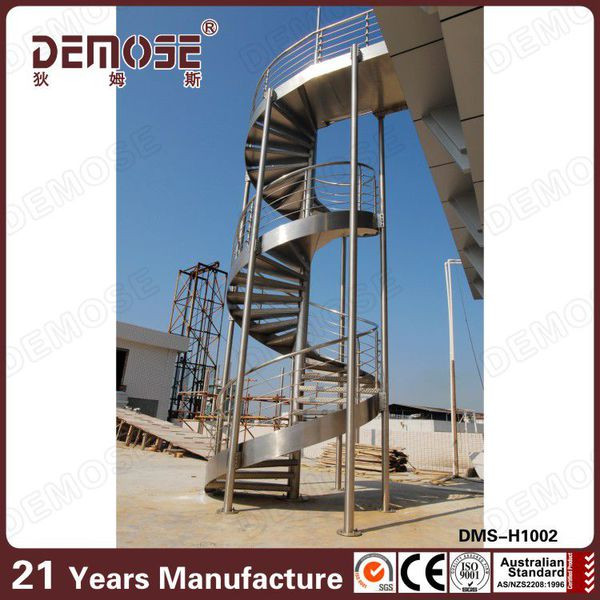 Prefabricated Spiral Stairs Iron Stairs For Outside Price