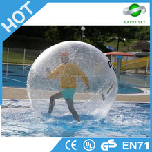Lower price transparent water ball,clear human hamster water ball ,water ball with duck