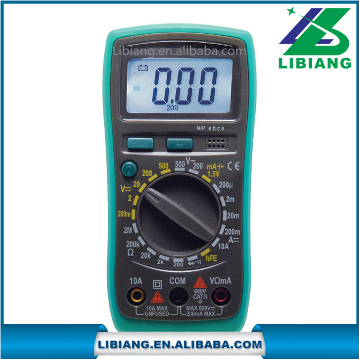 Manual operation digital avometer