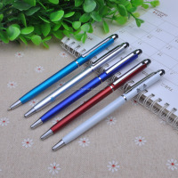 Hot selling slim plastic touchpen for promotion