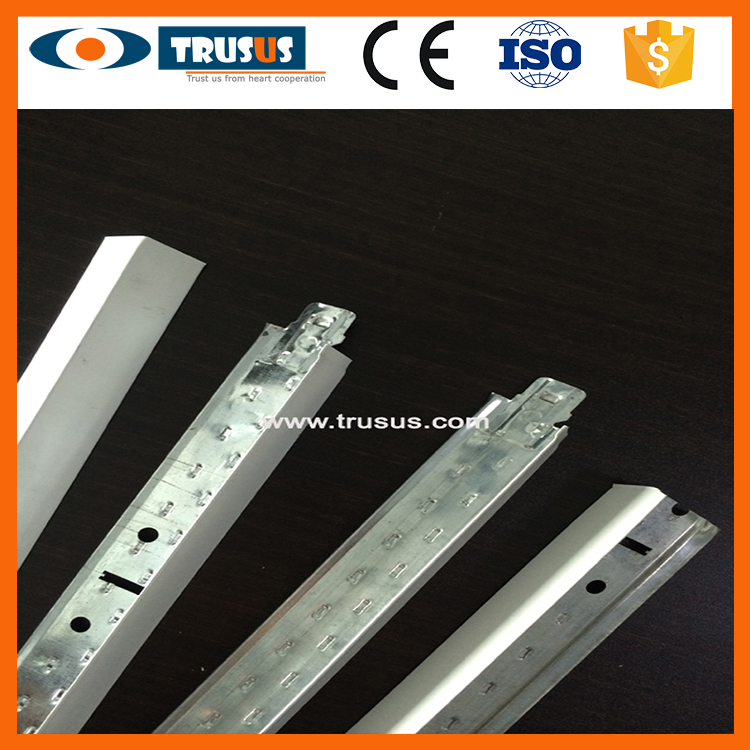 T Runner Exposed suspended T Bar Ceiling Hangers