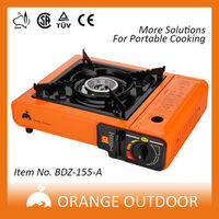 CE/CSA/GS approved commercial butterfly gas stove