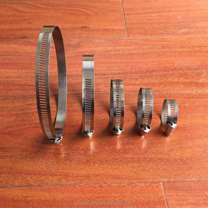 Manufacturer price for American stainless steel hose clamp 10-16mm