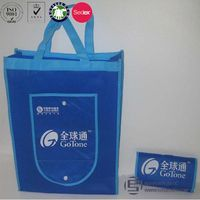 Customised large non woven packaging bags for shopping