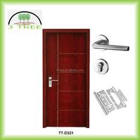 Mahogany Sapeli Ash White oak Cherry Black walnut etc solid wood veneer doors