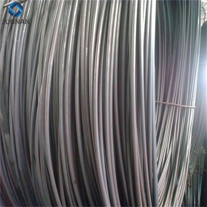 5.5mm-12mm SAE1008 low carbon prime hot rolled steel wire rod price in coils