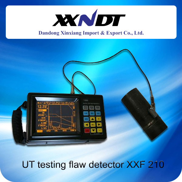 Digital ultrasonic flaw detector Model XXF 210