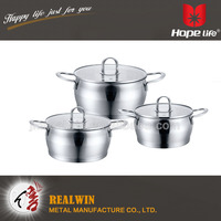 Hot-Selling high quality low price range of cookwares , cast iron cookware , surgical steel cookware sets