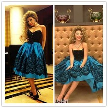 MEMF01 Sexy Myriam Fares Celebrity Dress Ball Gown Prom Dresses Strpalesses Arabic Middle East Style Evening Dresses