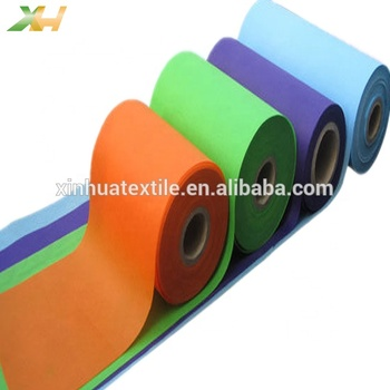 Supply Cheap Price Colorful 100% Raw Material Polypropylene PP Spunbond Non Woven Fabric Manufacturer