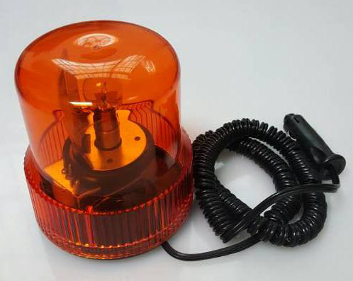 Factory made amber blue red green color car rotating warning light