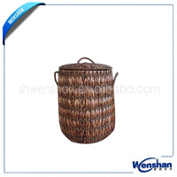 high quality rattan Laundry basket