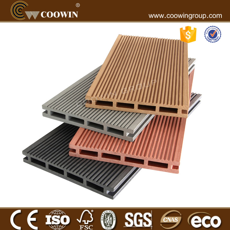 Fireproof wood plastic composite decking