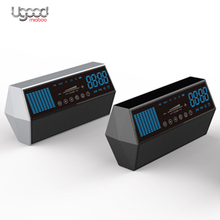 Original Factory Loud Speaker LED Light with clock,Portable Bluetooth speaker FM Vedio TF Card Wireless Speaker