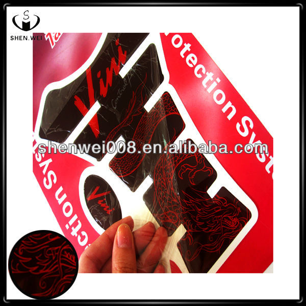 tank protector pad logo motorcycle decals stickers
