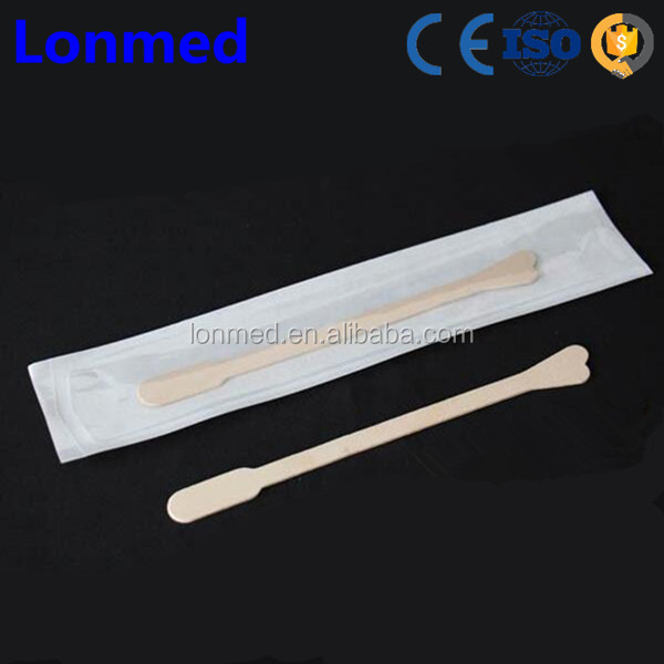 Competetive price wooden sterile medical pap smear kit