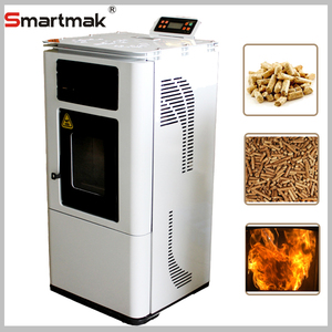 Smartmak Portable 9kw Small Wood Pellet Stove