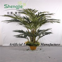 fantastic planter , cheap artificial greenery plant, areca