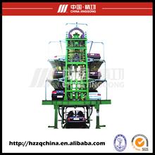 Multi-level mini mechanical rotary vehicle parking system