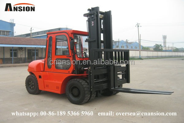 ANSION brand new 600mm load center diesel 5 ton forklift price