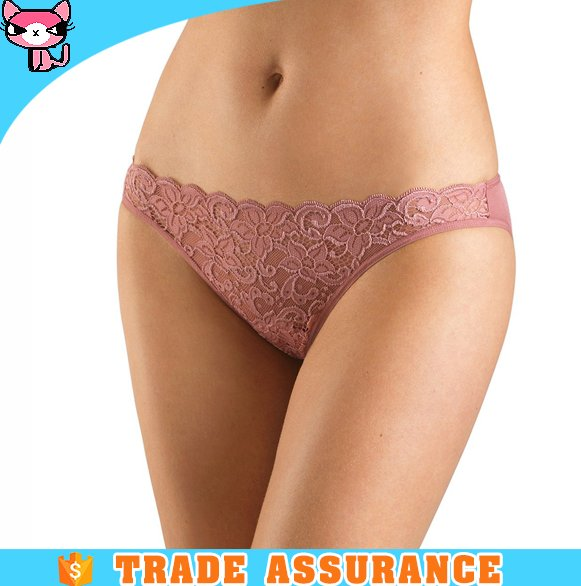 New arrival transparent sheer lace panties for woman underwear