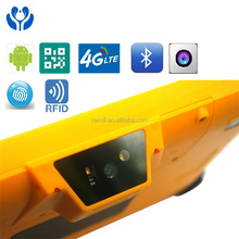 android 4G GPS WIFI RFID UHF rugged tablet PC IP65 with fingerprint reader