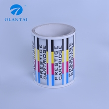 Custom printing waterproof adhesive packaging label sticker roll