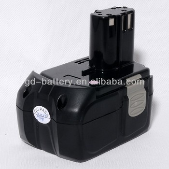 cordless drill battery 18v replacement for hitachi EBM1830 battery